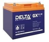 Аккумулятор DELTA GX 12-40 ( 12V 40Ah / 12В 40Ач ) - фотография