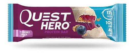 Батончики Quest Hero Bar Blueberry Cobbler