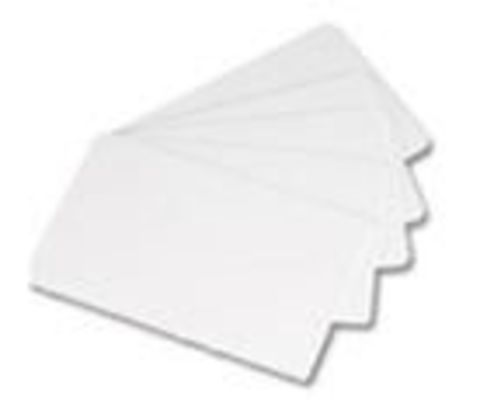 Белые карты, тонкий картон, 0.25мм - 10 mil, 5 упаковок по 100 карт (C2001)