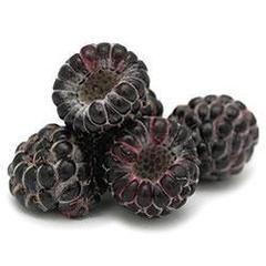 Чёрная малина Кумберленд свежая с сахаром, 500гр