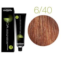 L'Oreal Professionnel INOA 6.40 (Темный блондин медный глубокий) - Краска для волос