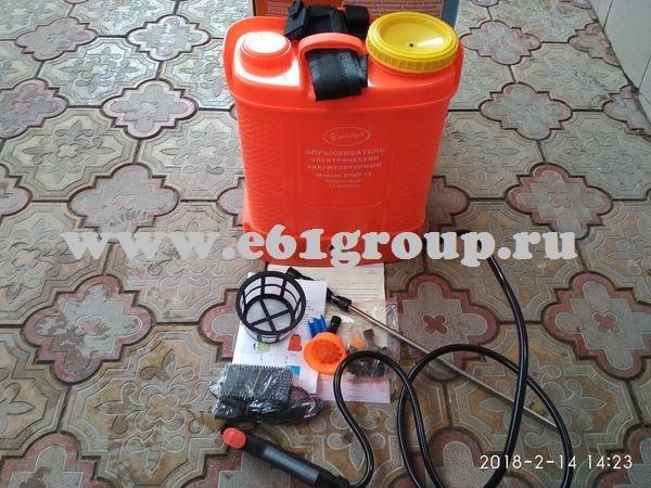2 Опрыскиватель электрический ранцевый  Комфорт (Умница) ОЭМР-12 с регулятором мощности купить