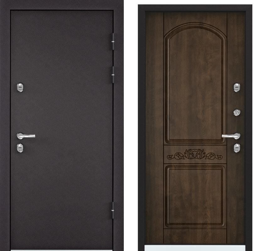 Входные двери Torex Snegir 60 горячий шоколад TS-5 КТ орех грецкий generated_image-15.jpg
