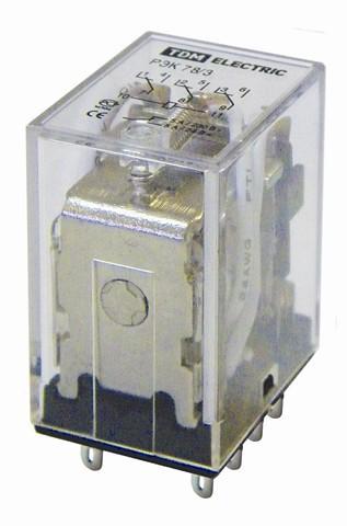 Реле РЭК78/3 5А 110В DC TDM