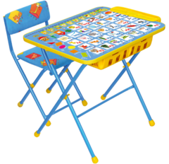 Комплект детской мебели Никки КУ2П с большим пеналом