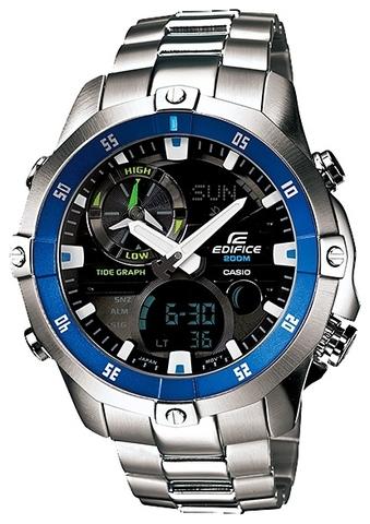 Купить Мужские японские наручные часы Casio EMA-100D-1A2VDF по доступной цене