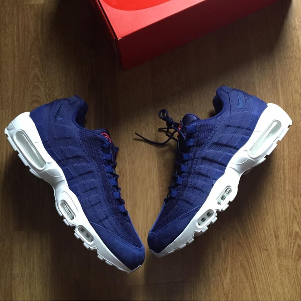 more photos 9b6c1 e3aef ... italy nike air max 95 x stussy blue white.