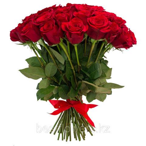 Букет из 25 Голландских роз (1 метр)