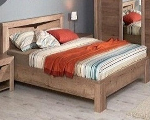 Кровать (каркас) ГАРДА 90