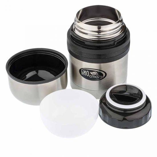 Термос универсальный (для еды и напитков) Biostal (0,75 литра), стальной*