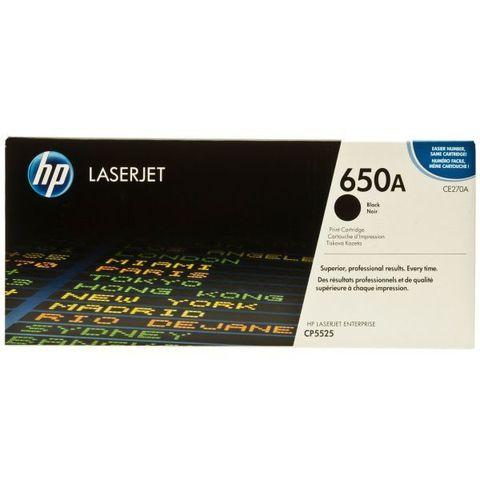 Kартридж HP CE270A черный для HP Color LaserJet CP5520 (13,5K)