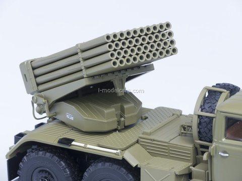 Ural-375 BM-21 Grad khaki 1:43 Start Scale Models (SSM)