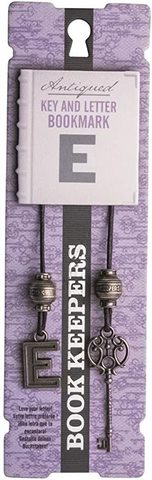 Bookmark Book Keepers Letter - E