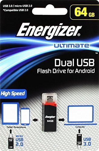 USB-флэш накопитель Energizer Ultimate Dual USB 3.0/microUSB 64GB