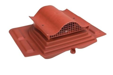 Кровельный вентиль Pelti KTV для труб 110-160мм RAL 8017 герметик, уплотнитель гидрозатвора входят в комплект