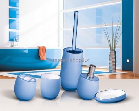 Tatkraft REPOSE BLUE Гарнитур для туалета, многослойный акрил