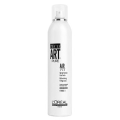 L'Oreal Professionnel Tecni.art Air Fix Pure Spray - Спрей без запаха моментальной фиксации с защитой от влаги и УФ-лучей