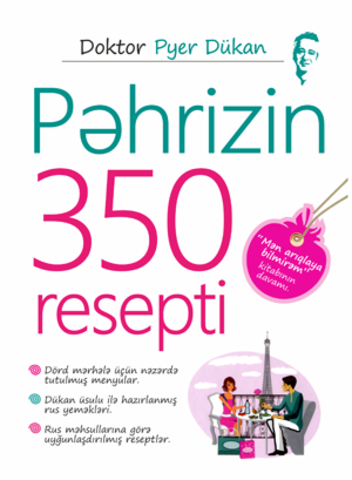 Pəhrizin 350 resepti