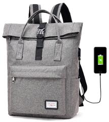 Сумка-рюкзак DX535 USB Серый