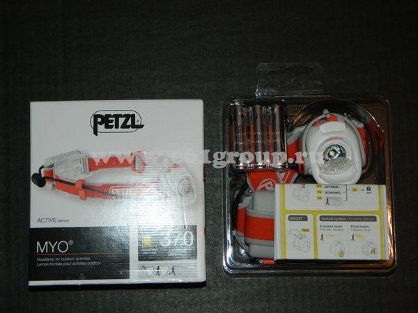 светодиодный фонарь Petzl MYO распродажа