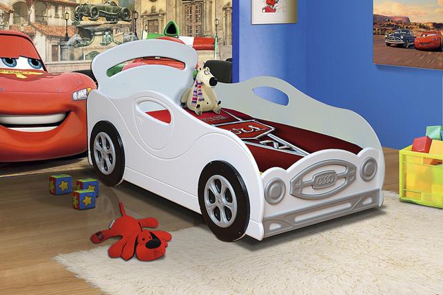Кровать «Омега-12» 800х1600 (мальчик), ЛДСП/МДФ, Фант-мебель, г. Волжск