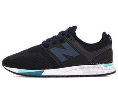 Кроссовки Мужские New Balance 247 Sport Pack Black White Turquoise