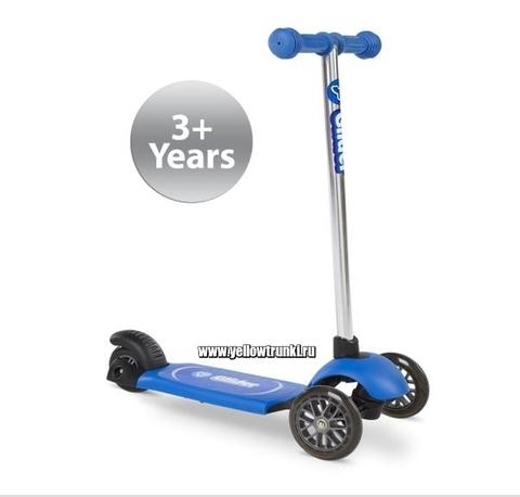 Самокат синий Yvolution Glider