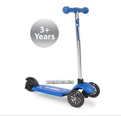 Самокат синий для детей от 3 лет Yvolution Glider Air