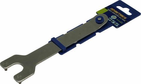 Ключ для планшайб ПРАКТИКА 30 мм, для УШМ, плоский + планшайба  (246-234)