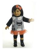 Костюм с туникой - На кукле. Одежда для кукол, пупсов и мягких игрушек.