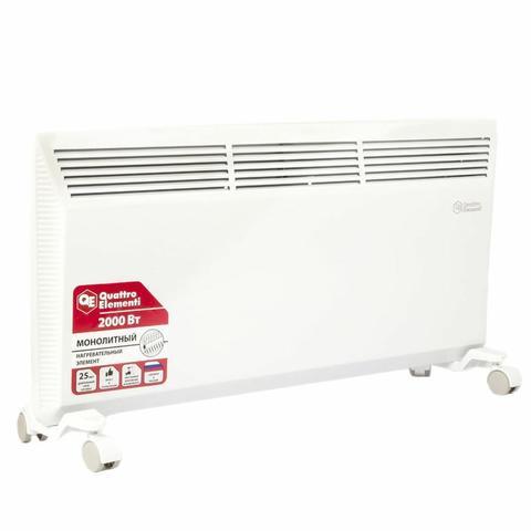Нагреватель воздуха конвекторный QUATTRO ELEMENTI QE-2000KM (2 кВт). (790-540)