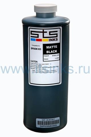 Пигментные чернила STS для Epson SC-T3200/T5200/T7200 Matte Black  1000 мл
