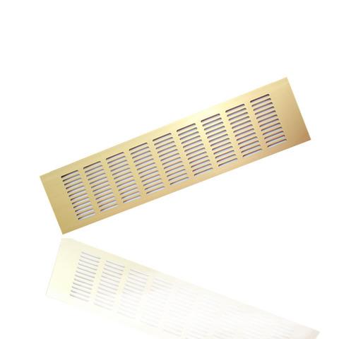 RA840G Решетка 80х400мм Золото