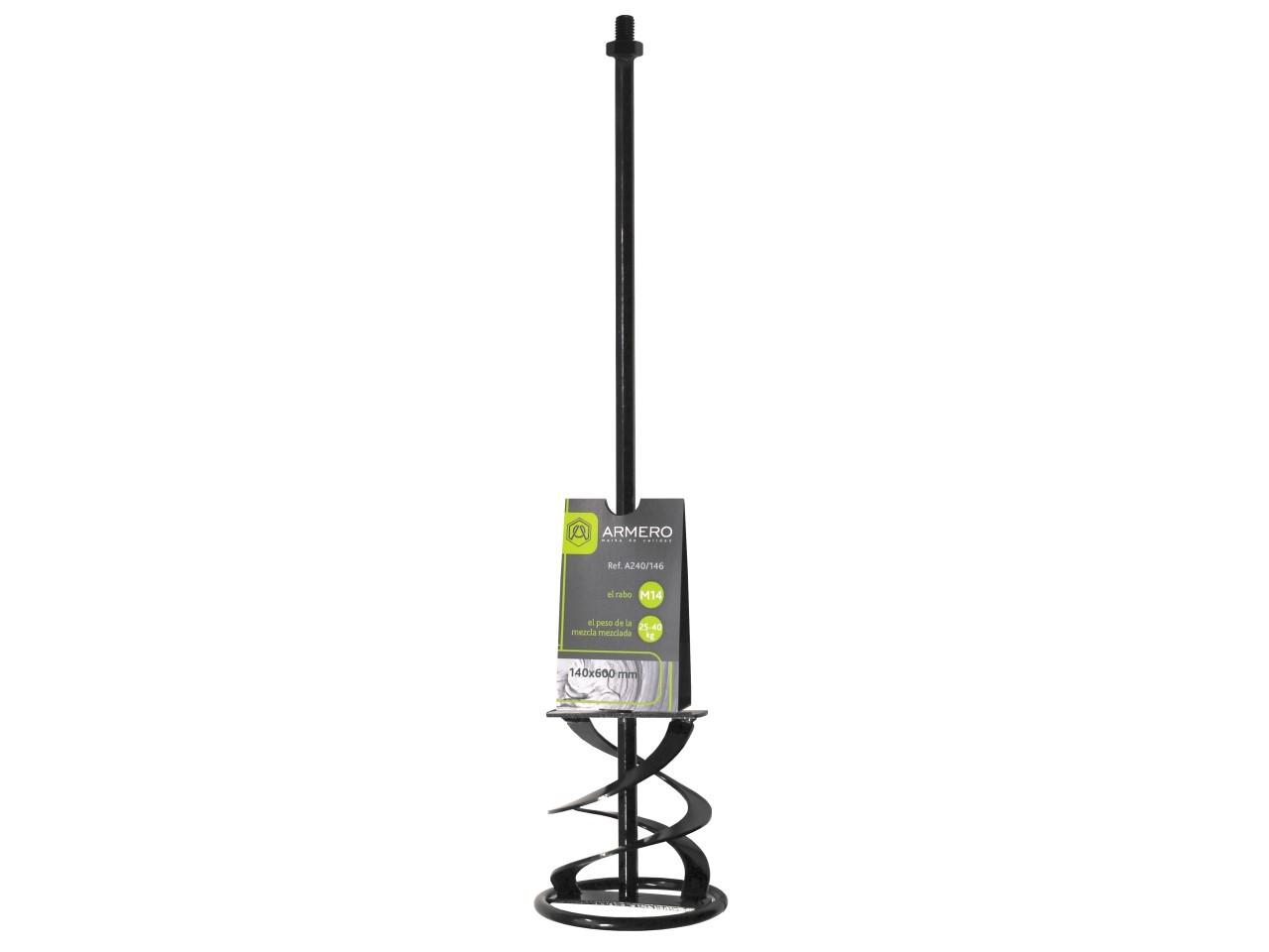 Миксер A240/146 для цементных смесей, 140х600 мм, М14