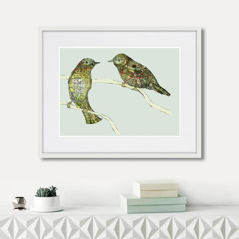 Дженни Капон - Waltz birds №7