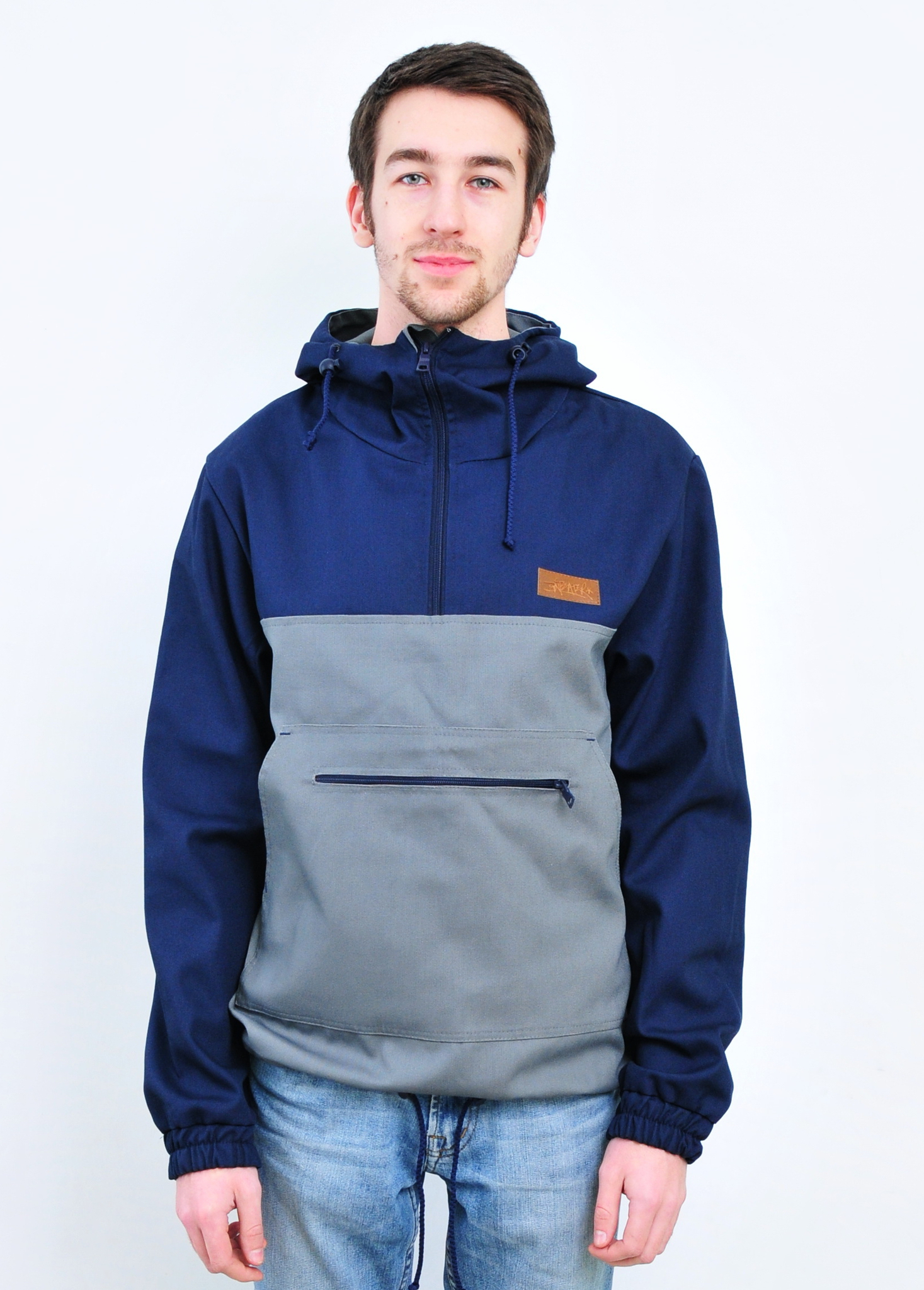 Анорак ANTEATER anorak cotton navy