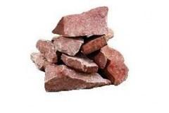 Камни для бани Кварцит малиновый, 20кг