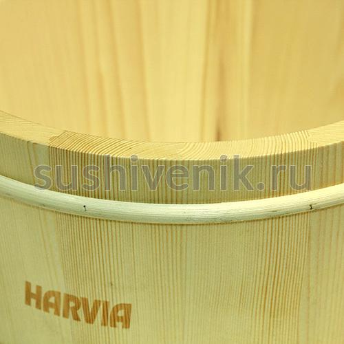Шайка Harvia с пластмассовой вставкой, 4 л