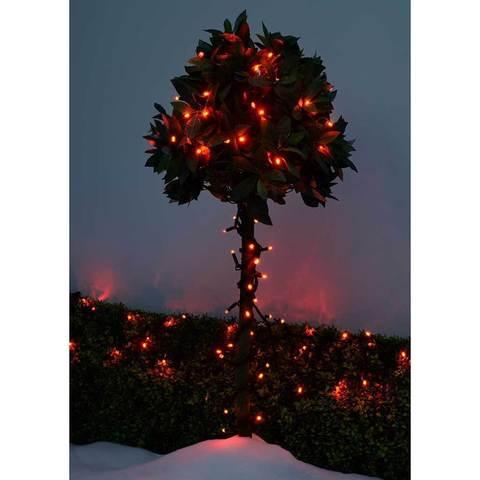 новорічна гірлянда на дерево нитка вулична світлодіодна