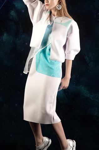 Куртка, топ-шелл и юбка «AZNIO»