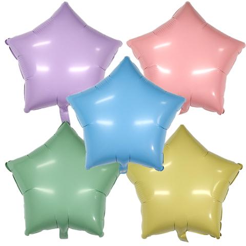 Воздушный шар Звезда Матовая (Макарунс)
