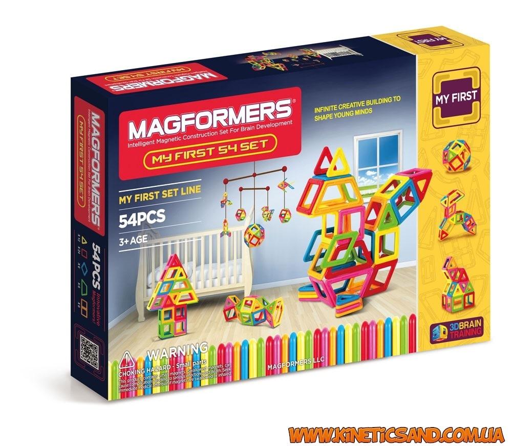 Magformers Мой первый набор, 54 элемента Магформерс