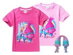 Тролли футболка детская Розочка и Близнецы — Trolls T-shirt
