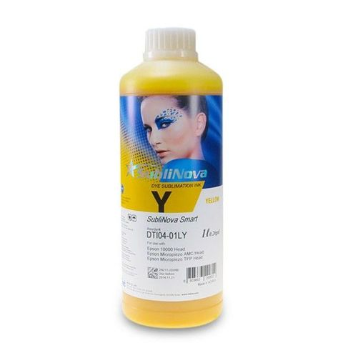 Чернила InkTec DTI04 /Y yellow (желтый) Piezo 1л. Сублимационные