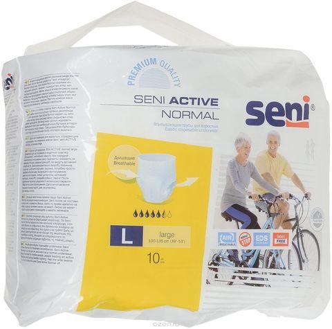 Впитывающие трусы SENI ACTIVE Normal Large, 10 шт./уп.