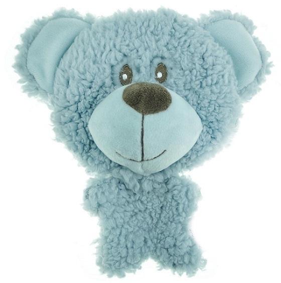 Новинки Игрушка для собак, AROMADOG BIG HEAD, Мишка 12 см голубой WB16954-1.jpg