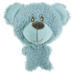 Игрушка для собак, AROMADOG BIG HEAD, Мишка 12 см голубой