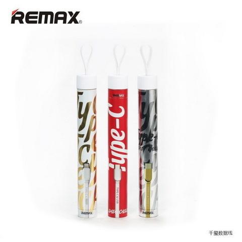 Кабель Remax RC-037a Type-C to iPhone 5, white