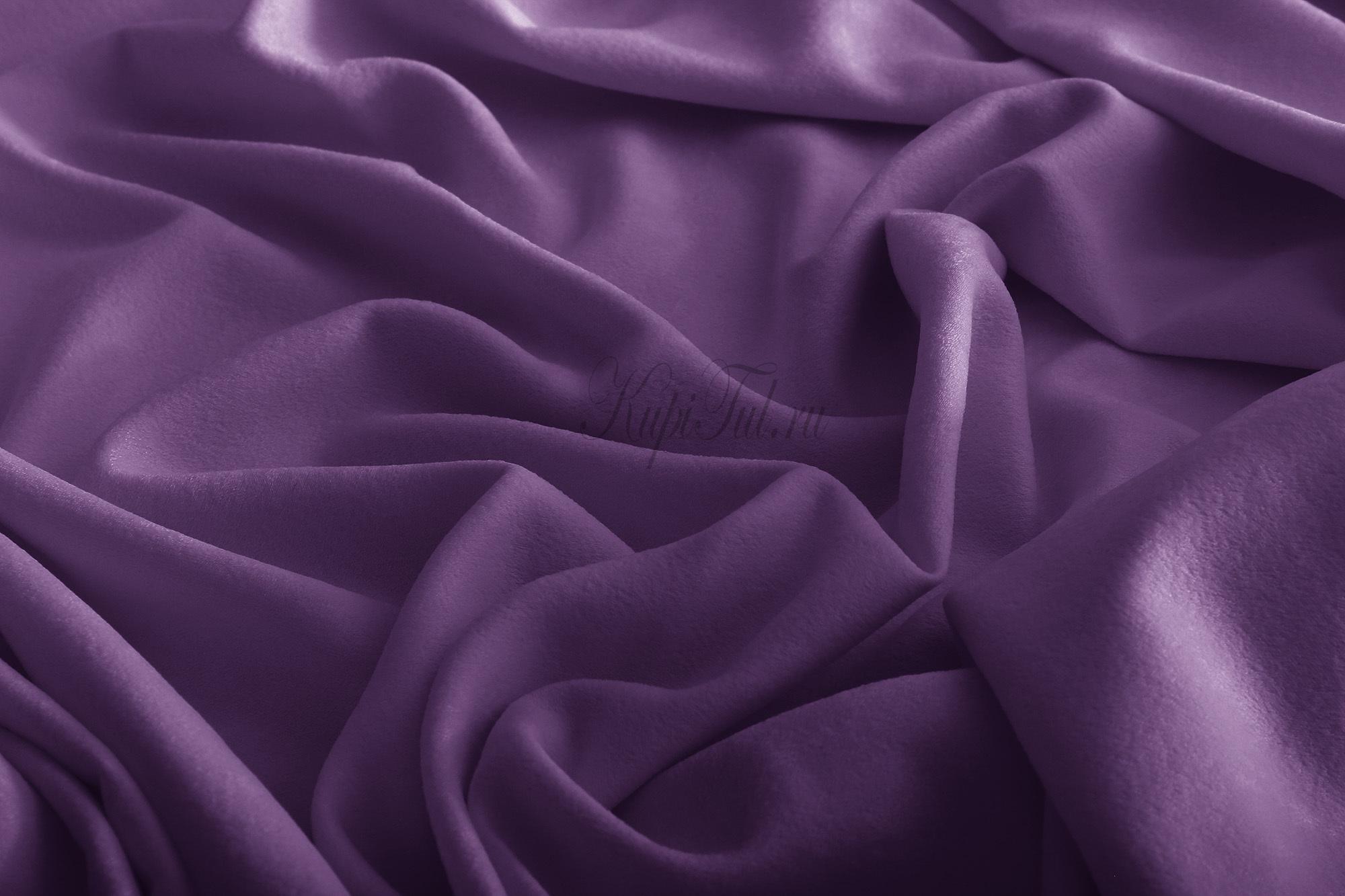 Mild (фиолетовый). Готовые шторы.