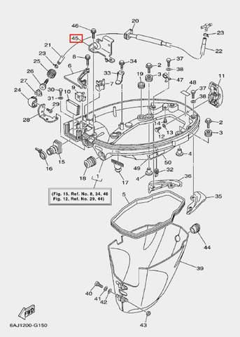 Кронштейн для лодочного мотора F20 Sea-PRO (15-45)